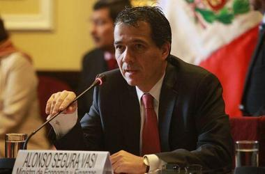 Alonso Segura, ministro de Economía