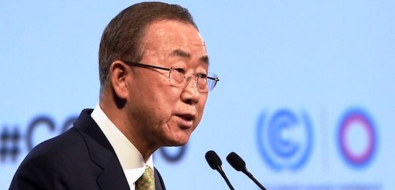 Ban Ki Moon COP20