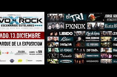 """Festival """"Vivo X El Rock"""": veinte bandas este sábado en Parque de la Exposición"""