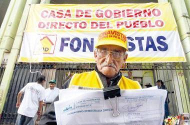 FONAVI, Fonavistas, Foto: La República.