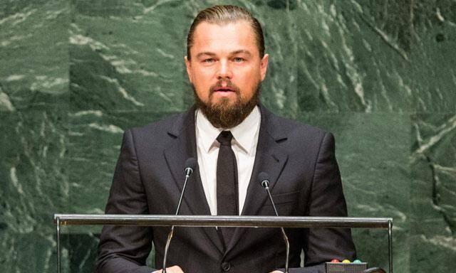 COP20, Leonardo DiCaprio, Dicaprio Perú