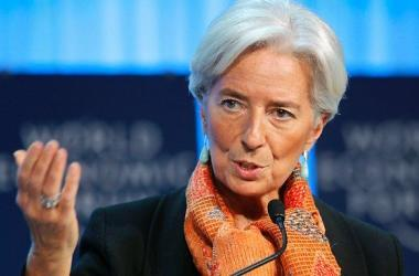 Christine Lagarde en Perú