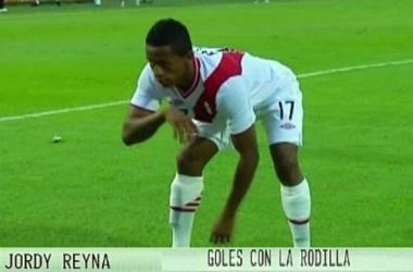 Yordy Reyna gol rodilla