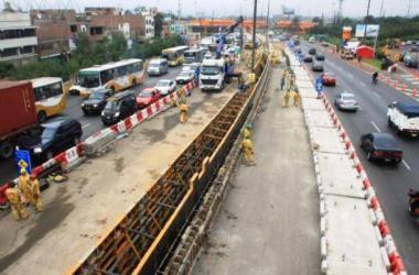 Obras de transporte en Lima