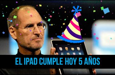 5 años de lanzamiento ipad