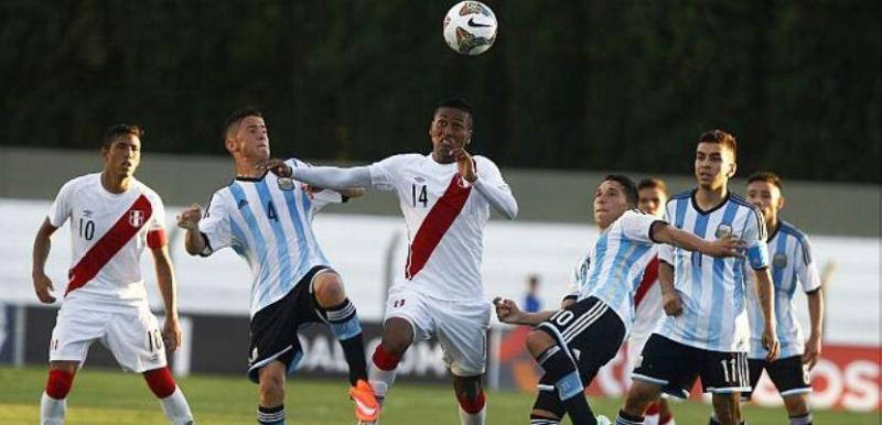 Perú vs Argentina sub 20 hexagonal final