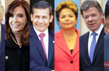 Sueldos de presidentes de Sudamérica