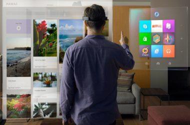 Microsoft Windows Hololens holopgrahics