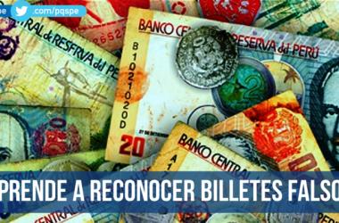 billetes y monedas falsas
