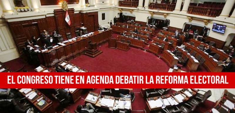 Reforma electoral Perú