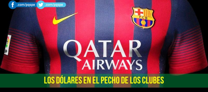patrocinio y sponsors en las camisetas de fútbol