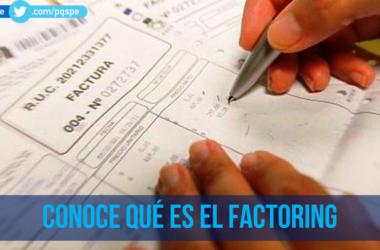 factoring facturas negociables factoraje