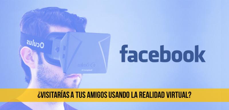 Facebook, apps, realidad virtual