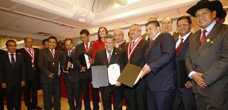 Presidentes Regionales con procesos judiciales