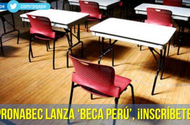 Pronabec Beca Perú