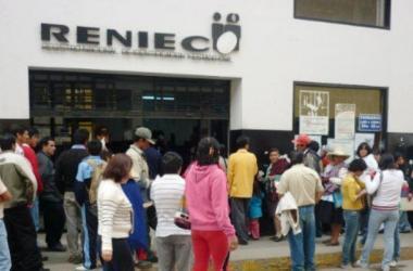 Servicios en línea de la Reniec