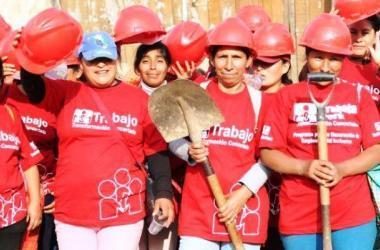 Trabaja Perú genera más de cien mil empleos