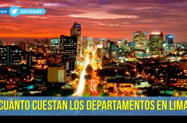 Precio de departamentos en Lima