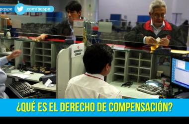 derecho de compensación
