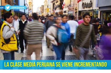 Crecimiento clase media peruana