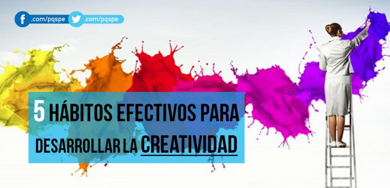 creatividad, desarrollo, hábito, habilidad