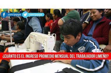Empleo, trabajo, trabajadores, INEI, sueldos, ingresos