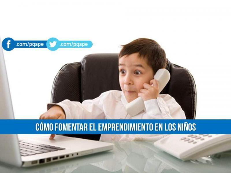 emprendedores, emprendimiento, trabajo, consejos, emprendimiento en niños