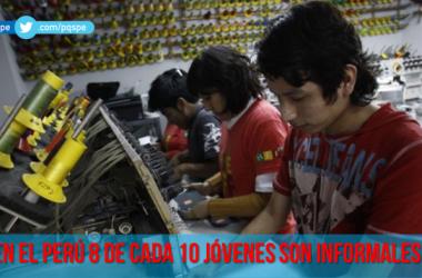 Informalidad en los jóvenes de América Latina