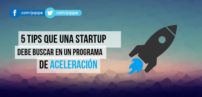 startup, emprendimiento, emprendedor, programa de aceleración