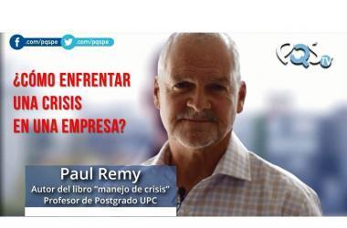 Empresas, crisis, crisis en las empresas, consejos, recursos humanos, Paul Remy