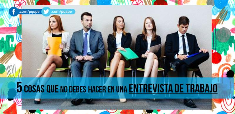 entrevista, trabajo, currículum vitae, errores