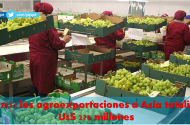 Agroexportaciones peruanas a Asia