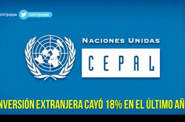 inversión extranjera en el Perú