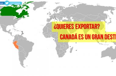 productos peruanos para vender a Canadá