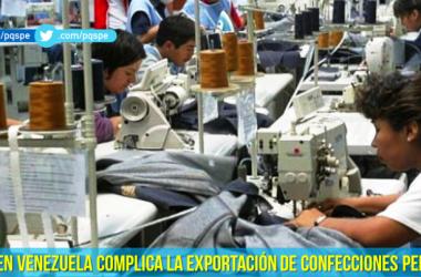 confecciones peruanas caen en el primer trimestre del 2015
