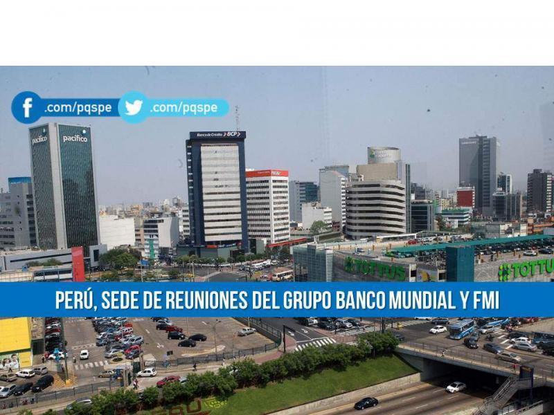 banco mundial, fmi, encuentros internacionales