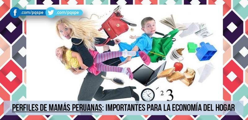 perfil, economía del hogar, madres modernas, consumo masivo