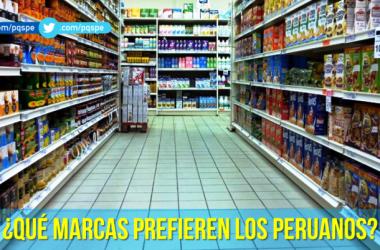 las marcas preferidas por los peruanos