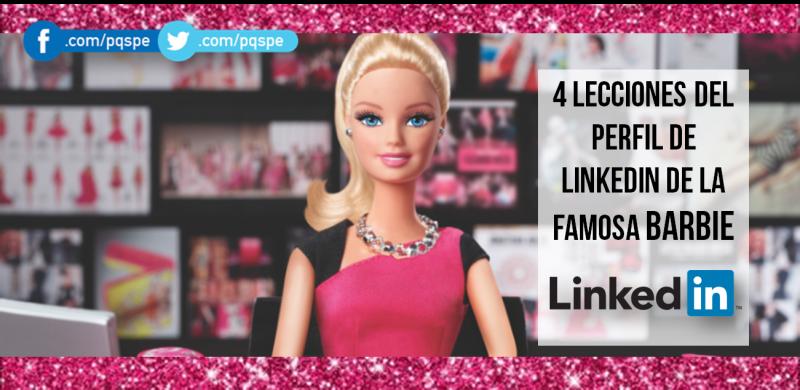 barbie, linkedin, lecciones, mattel