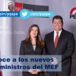 Conoce a los nuevos viceministros del MEF