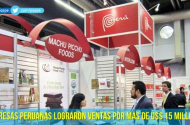 Empresas peruanas en feria Sial Canada 2015