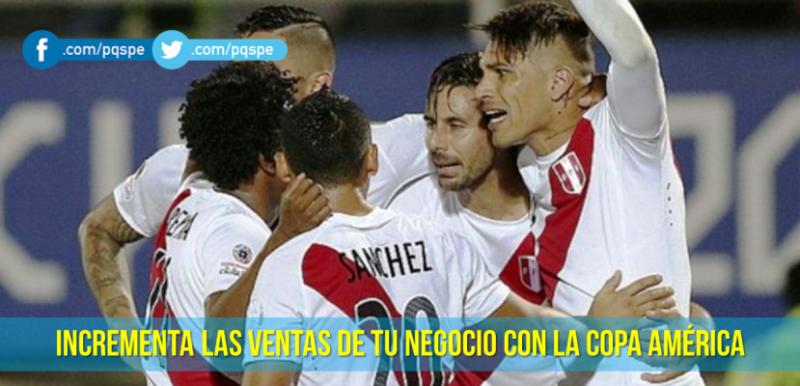 Copa América: estrategia de ventas
