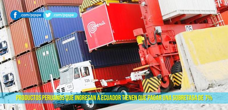 Salvaguardias Ecuador a Perú