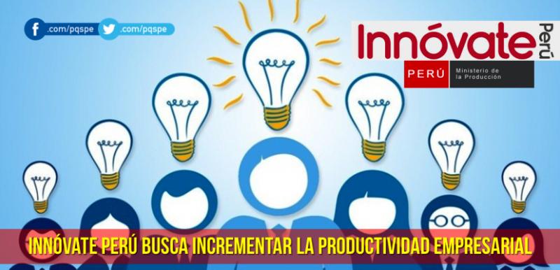 Innóvate Perú Mejora de Calidad