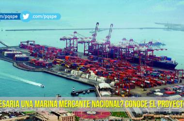proyecto para crear marina mercante Perú