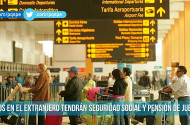 seguro social para peruanos en el extranjero
