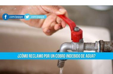 Agua, tarifa de agua, sunass, reclamos