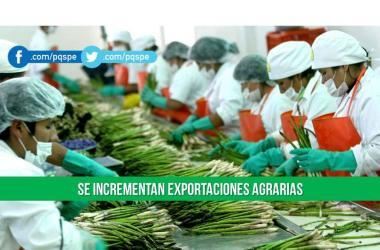 Agroexportaciones, ministerio de agricultura, exportaciones