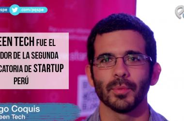green tech, startup perú, PQS, para quitarse el sombrero, premio
