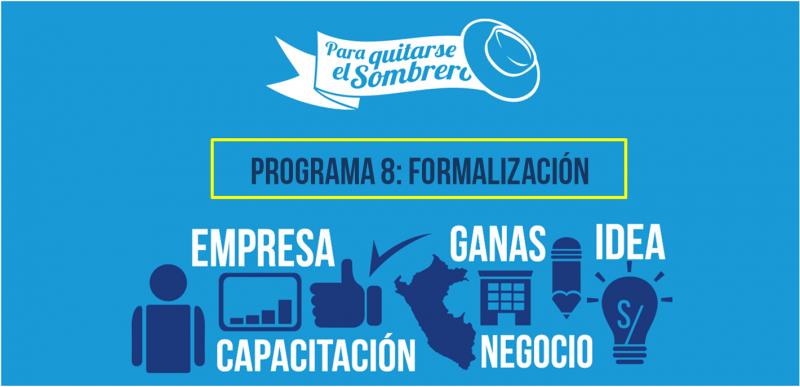 emprendimiento, formalización, programa, premio pqs